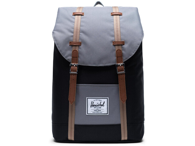 Herschel Retreat Backpack 19,5l black/grey/pine bark/tan